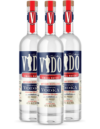 Vido Vodka 3 Pack